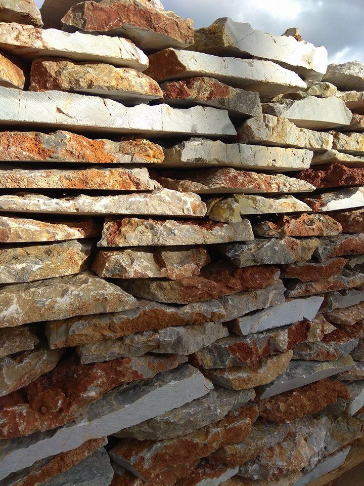 Εφαρμογές με φυσική πέτρα